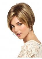 Pixie Cut Haarstil Synthetische Perücke